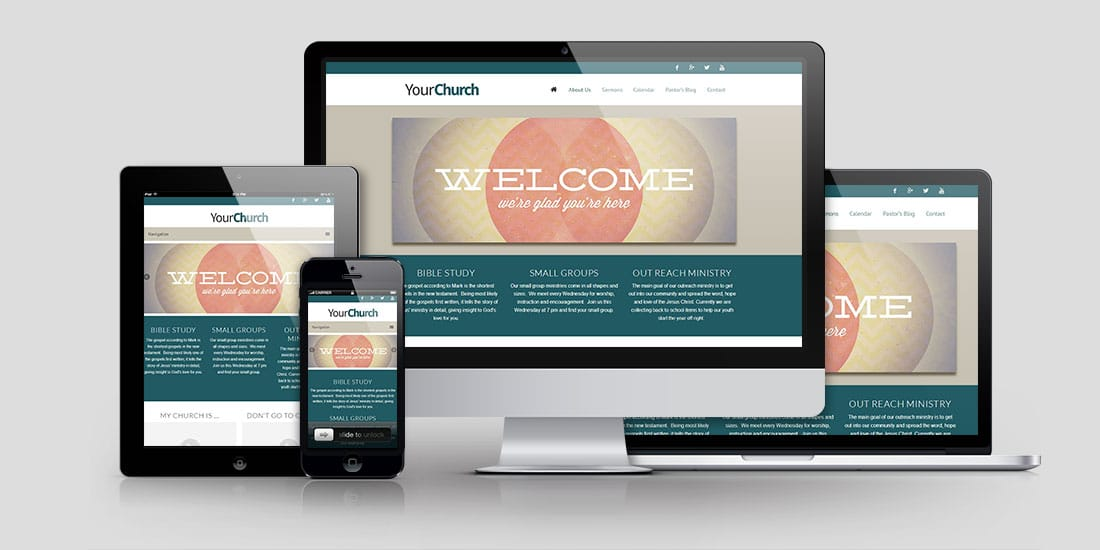 Church Website Design Build A Church ...