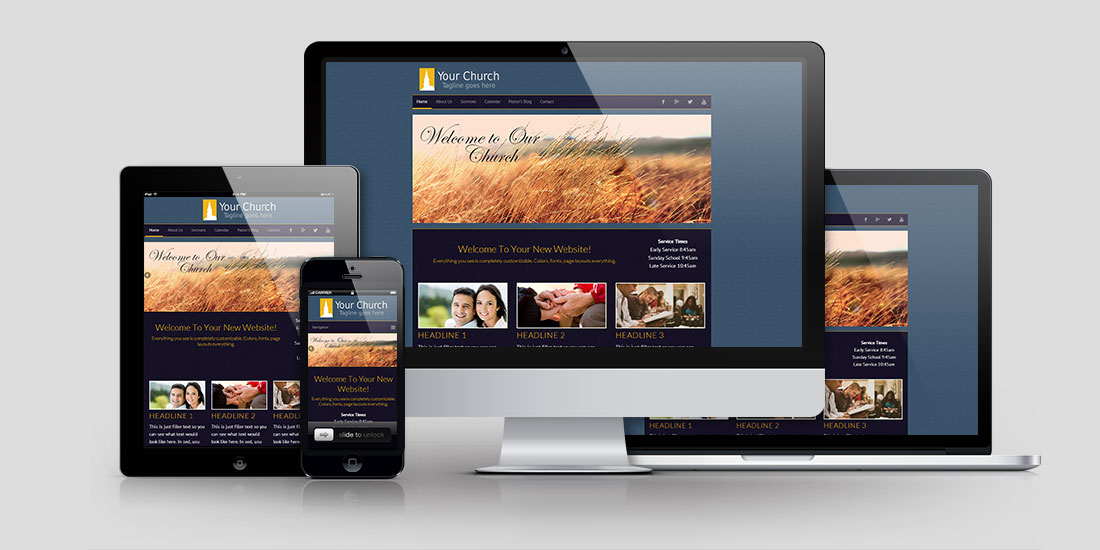 Church Website Design CD106