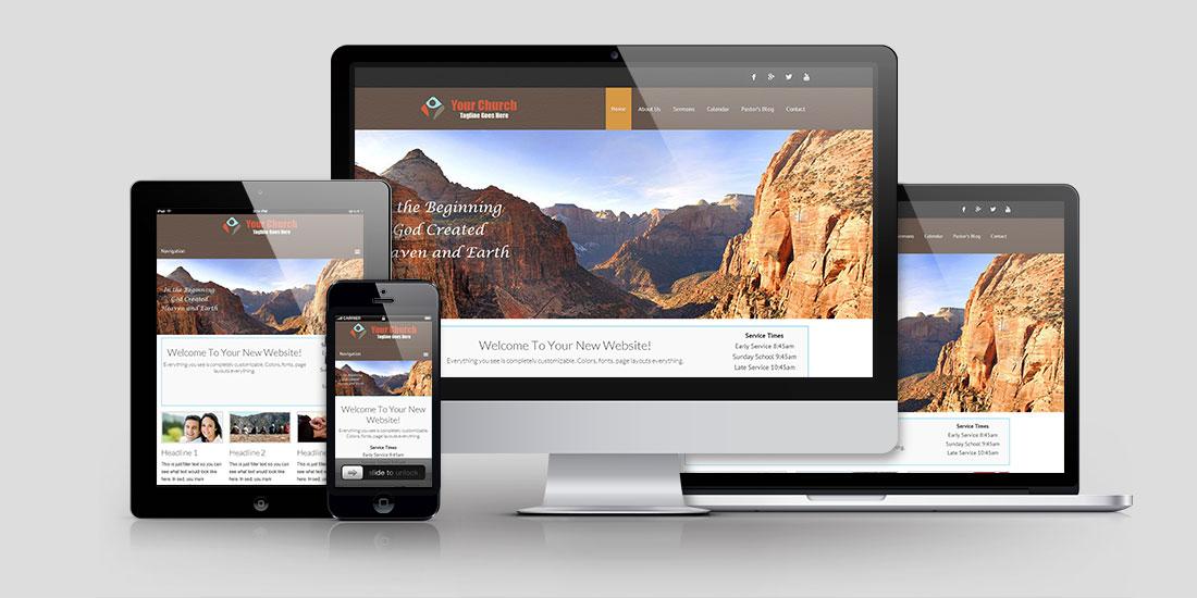 Church Website Design Choose a Church...