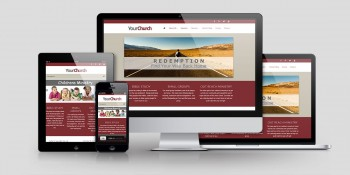 Church Website Design CD115