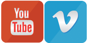 youtube-Vimeo