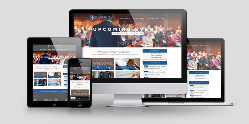 Church Website Design CD112