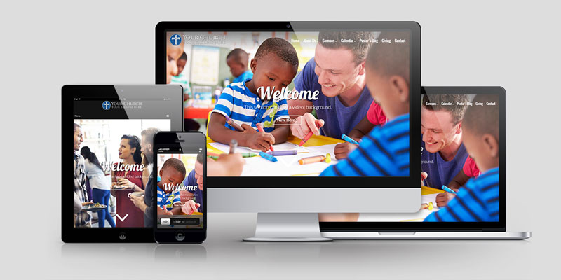 Church Website Design CD121