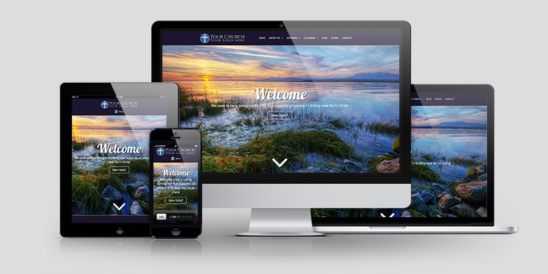 Church Website Design CD124