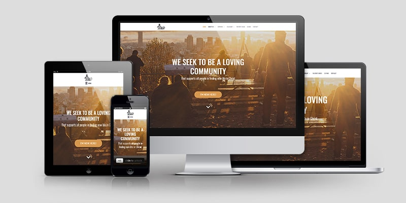 Church Website Design CD201